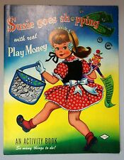 Susie Goes shopping with Real Play Money -How to Use Money Activity Bk 1954