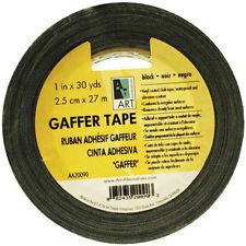 Gaffer Tape Vinyl Black 2In X 30Yds