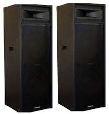 """BRAND NEW 2 X 15"""" MATSUTEC SPEAKERS 1600 WATT /DJ SPEAKERS"""