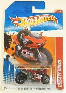 2011 Hot Wheels Red DUCATI 1098R Motorcycle 199/244