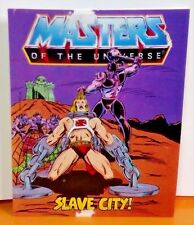 MASTERS OF THE UNIVERSE MOTU HE-MAN RARE MINI COMIC PROMO Slave City !