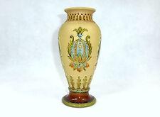 Rare geritzte Vase Villeroy & Boch Mettlach 1913