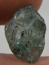 #1 7.75ct  Cambodia Natural Rough Uncut Blue Zircon Crystal Specimen 1.55g 13mm