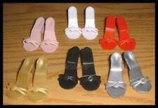 """Save 16% 6 pair 2"""" x 3/4"""" High Heel SHOES fit 15"""" MISS REVLON 18"""" KITTY COLLIER"""