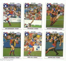 1992 Regina FITZROY Team Set (10 cards)