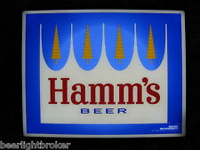 NEW VTG 2012 HAMM'S BEER LED PINE TREE & MOON LOGO IN MOTION Bar Light Pub Sign