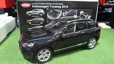 VOLKSWAGEN TOUAREG 2010 TSI Black au 1/18  KYOSHO 08822DBK voiture miniature