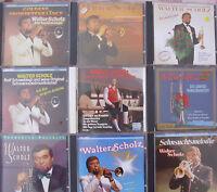 9 CDs von Walter Scholz- Bitte lesen