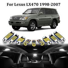 17x White Led Interior Light Kit For Lexus Lx470 1998 2007 Toyota Land Cruiser