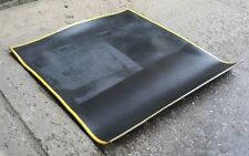 Clearance: High Temperature Soldering Mat - Black + Yellow Edge - 840mm x 840mm