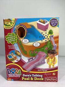 Fisher-Price Dora's Talking Pool & Deck Play Set!