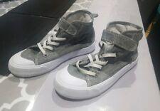 Boys grey hightop shoe size 13 kids