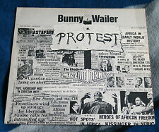 BUNNY WAILER PROTEST 1977 UK LP ISLAND RECORDS ILPS 9512