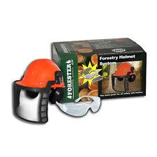 CHAINSAW SAFETY HELMET SYSTEM..SAFETY ORANGE FORESTER