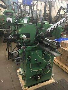 ROYAL MASTER Centerless Grinder TG-12-3 With Automatic Parts Feeder