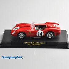 1/43 Scale Ferrari 250 Testa Rossa 24h Le Mans 1958 14# Diecast Sports Car Model