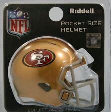 NFL American Football SAN FRANCISCO 49ers Riddell SPEED Pocket Pro Helmet