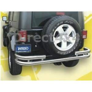 Jeep Stainless Steel Rear Skid Bar Jeep Wrangler Unlimited 2007+