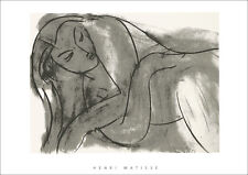 Henry Matisse NU poster immagine serigrafia stampa d'arte 60x80cm-SPEDIZIONE GRATUITA