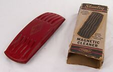 Vintage Stanley Magnetic Cleaner, With Box,Furniture,Rugs,Upholstery