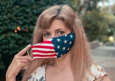 Made In USA! Comfortable Protective Face Mask/ US Flag Mask / Washable Reusable