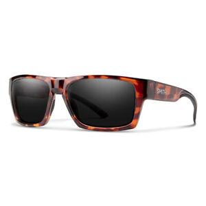 Smith Outlier 2 Dark Tortoise Sunglasses w/ CP Polarized Black Lens