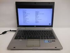 "HP EliteBook 2560p 12.5"", i5-2nd Gen, 8GB, 256GB SSD, Win 10 Pro"
