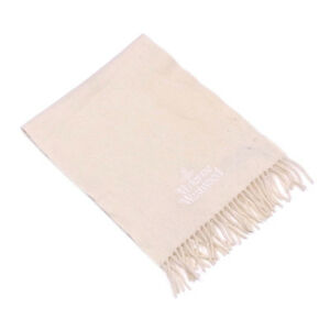 Vivienne Westwood Scarf Orb Beige Woman unisex Authentic Used T2458