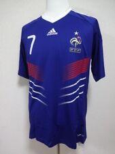France #7 Ribery 100% Original Soccer Jersey Shirt L 2010 Home Bnwt [R355]