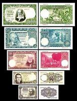 2x  1, 5, 50, 500, 1.000 Pesetas - Edición 1951 - Reproducción - 10