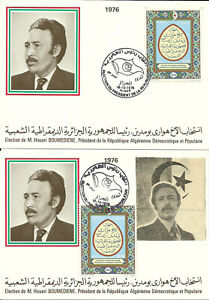 FDC , Postcards and FDS Algeria 1976 4