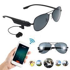 Bluetooth Headset Headphone Sunglasses Polarized Glasses Handsfree w/ Mic N0A3