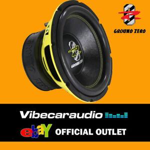 Ground Zero Radioactive GZRW 12XSPL 12″ SPL Car Subwoofer 1500W Bass Woofer