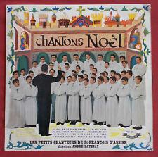 """PETITS CHANTEURS DE ST FRANCOIS D'ASSISE 25 CM 10"""" LP ORIG FR CHANTONS NOEL"""