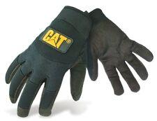 CATERPILLAR CAT 12211 black water resistant adjustable wrist work mechanic glove