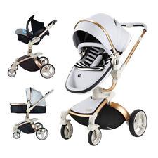 Baby Stroller3 in 1 travel system Bassinet pram Pushchair car seat for Hot mom