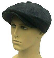 Peaky Blinders Hat Newsboy Gatsby Cap Dark Denim Jeans Bakerboy Country Flat