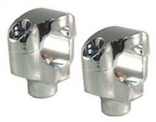 "Chrome 1-1/2"" Tall Risers for 1-1/4"" Handlebars Harley FXSTC Softail Custom"