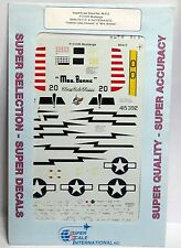 1/48 SuperScale Decals 48-615 P-51D/K MUSTANGS 460 FS C.O. & 2nd FS/2nd ACG mint
