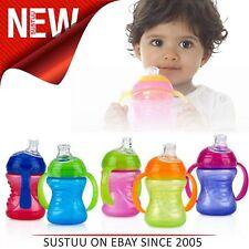 Nuby Sipeez Super Spout Grip N Sip│Silicone spout│4-12months│Non-Spill│Soft flex