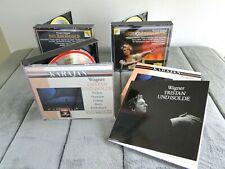 Wagner Tristan Und Isolde, Gotterdammerung, 3 CD SETS =10 MINT CDs Das Rheingold