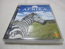 Mint. 7-14 Days to USA Airmail. Initial Jacket Version USED PS3 AFRIKA Japanese