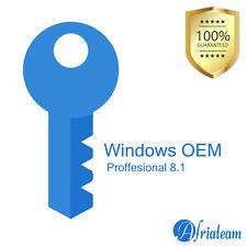 Windows 8.1 Professional OEM Product key 32/64 Bits - win 8.1 pro