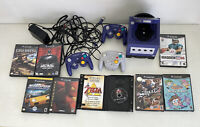 Nintendo Gamecube Lot (Console + 8 games + 3 controllers)