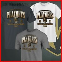 Vegas Golden Knights Stanley Cup Playoffs Bound Ring the Alarm Tri-Blend T-Shirt