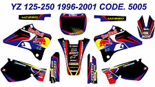 5005 YAMAHA YZ 125-250 1996-2001 Autocollants Déco Graphics Stickers Decals Kits