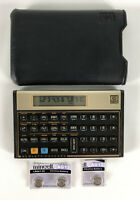 Hewlett Packard HP 12C Programmable Financial Calculator Case Vintage - 124