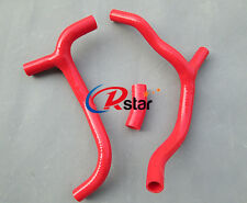 FOR HONDA CRF450R CRF 450 2009-2012 2010 2011 2012 SILICONE RADIATOR HOSE RED