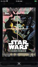 Topps Star Wars Digital Card Trader Retro Print Pack Art Insert