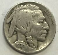 1936-D  BUFFALO NICKEL  GREAT COIN  FINE CONDITION     #229